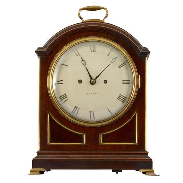 English Regency Bracket Clock