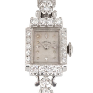 Ladies Diamond Wrist Watch by Hamilton