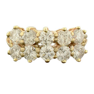 14 Karat Yellow Gold 2.0 CTW Diamond Ring