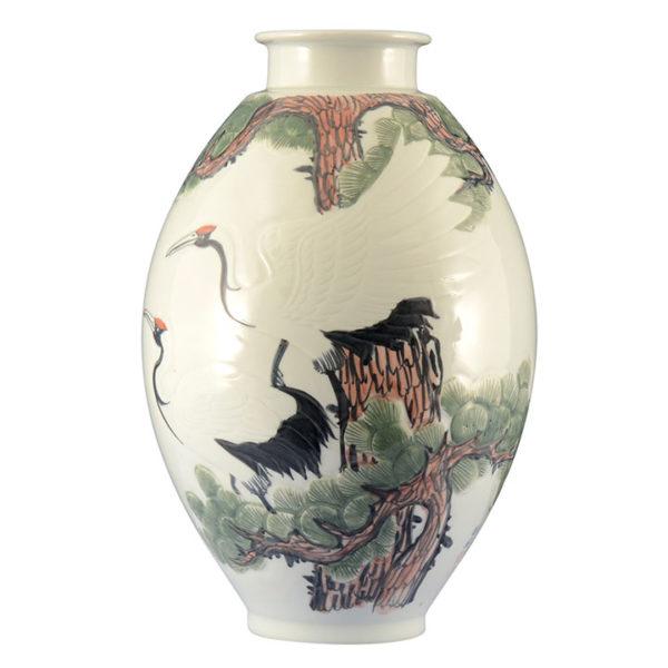 Korean Large Porcelain Vase