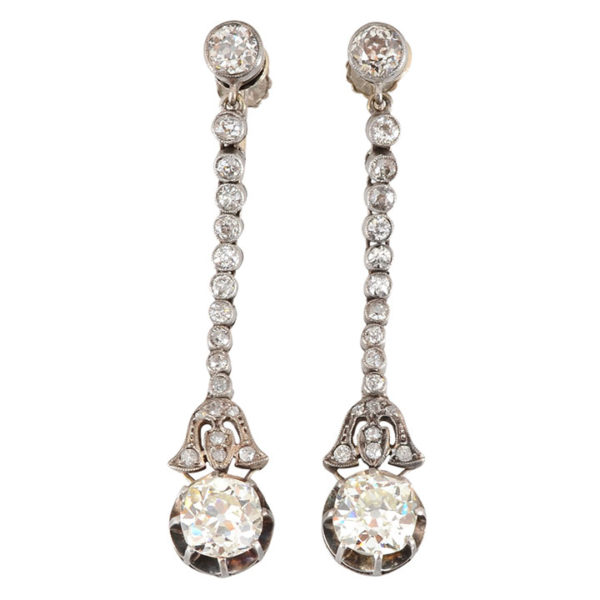 4.16 CTW Diamond Earrings