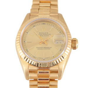 Swiss Ladies Presidential Rolex Wrist Watch