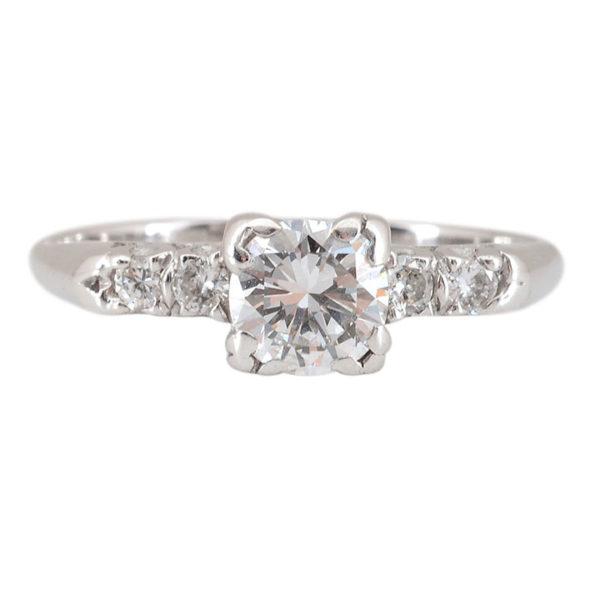 0.75 Carat Center Diamond Ring