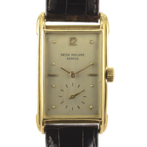 Rare Swiss Mens Art Deco Patek Philippe Wrist Watch