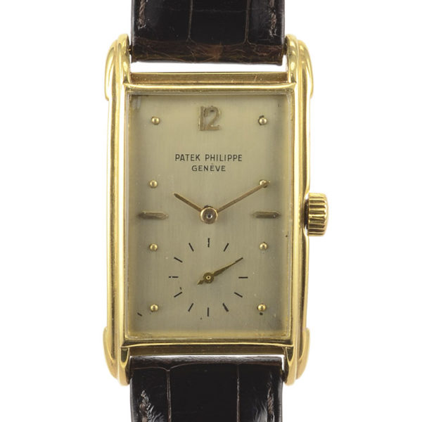 Rare Swiss Mens Art Deco Patek Philippe Wrist Watch