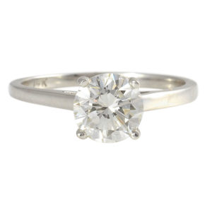 1.19 Carat Diamond Solitaire Engagement Ring