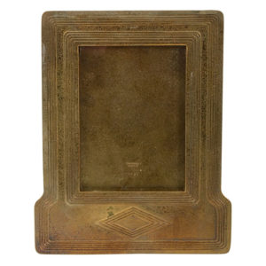 American Gilt Bronze Picture Frame Marked Tiffany Studios NY