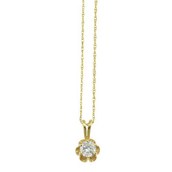 0.40 Carat Diamond Pendant