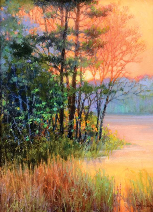 Golden Sundown by Anne Bridge