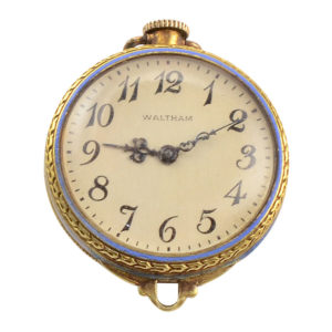Rare Transitional Wrist Watch by Waltham Maximus