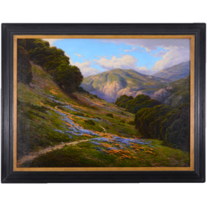 Oil on Canvas When Morning Gilds The Skies by Dirk Foslien