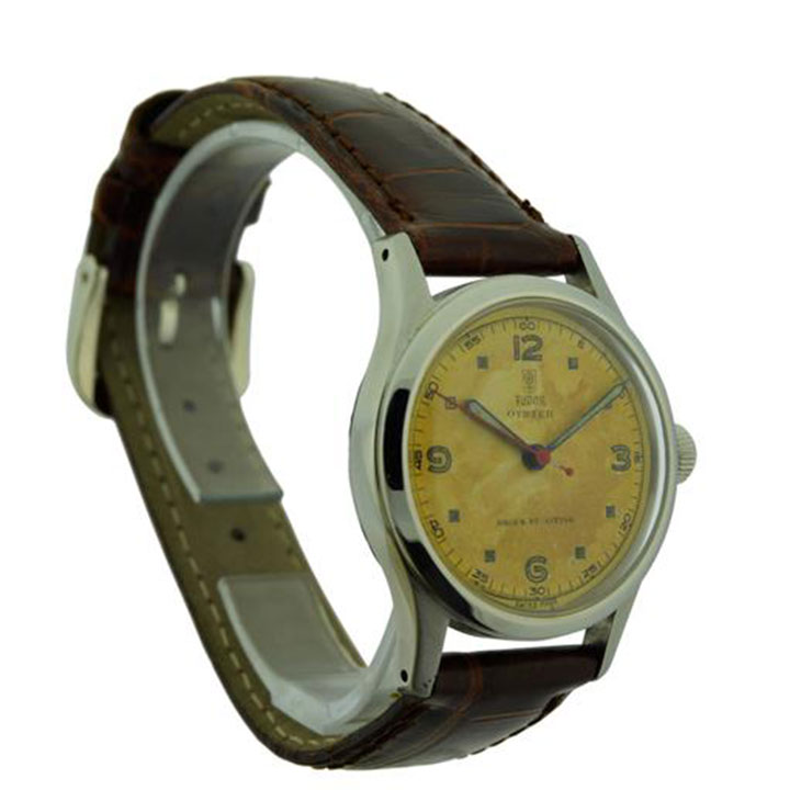 rolex tudor stainless steel wrist watch solvang antiques