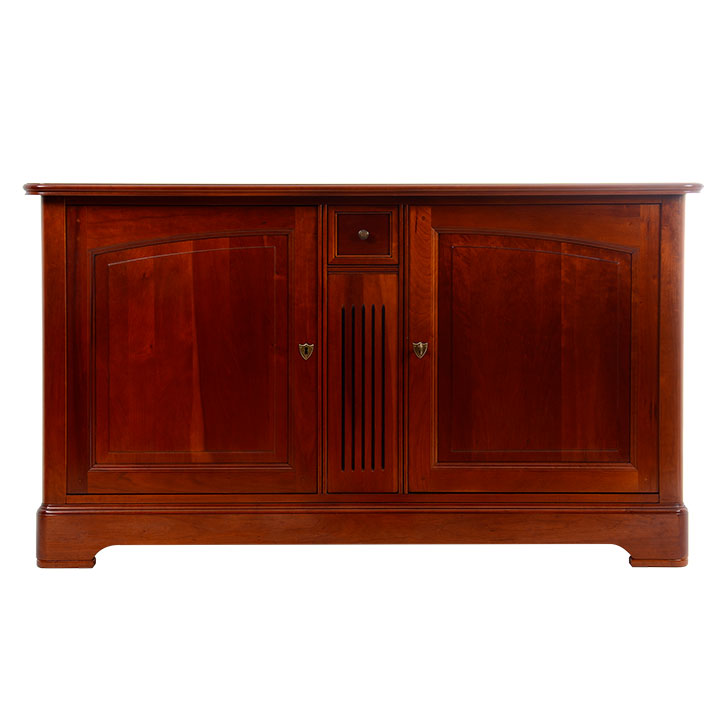 grange louis philippe cherrywood two door buffet solvang. Black Bedroom Furniture Sets. Home Design Ideas