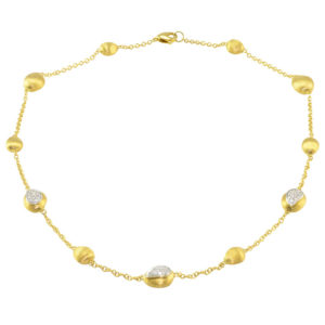 Marco Bicego Diamond 18K Gold Necklace