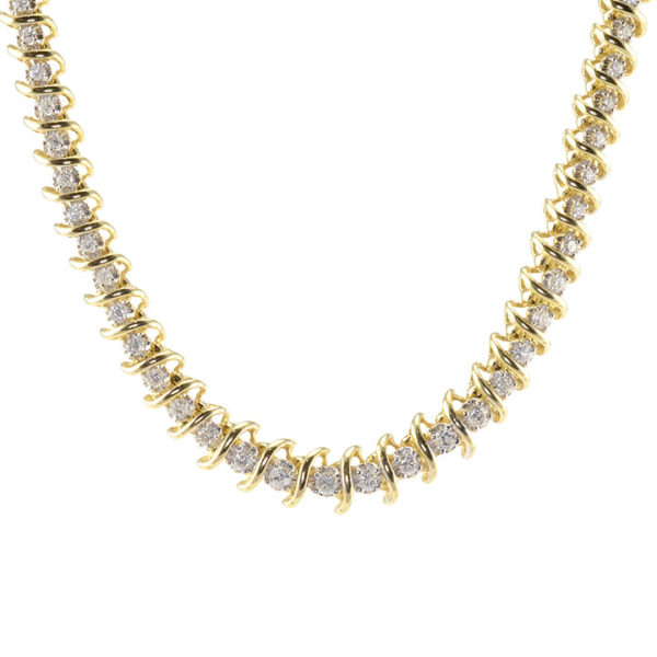2.85 CTW Diamond Necklace