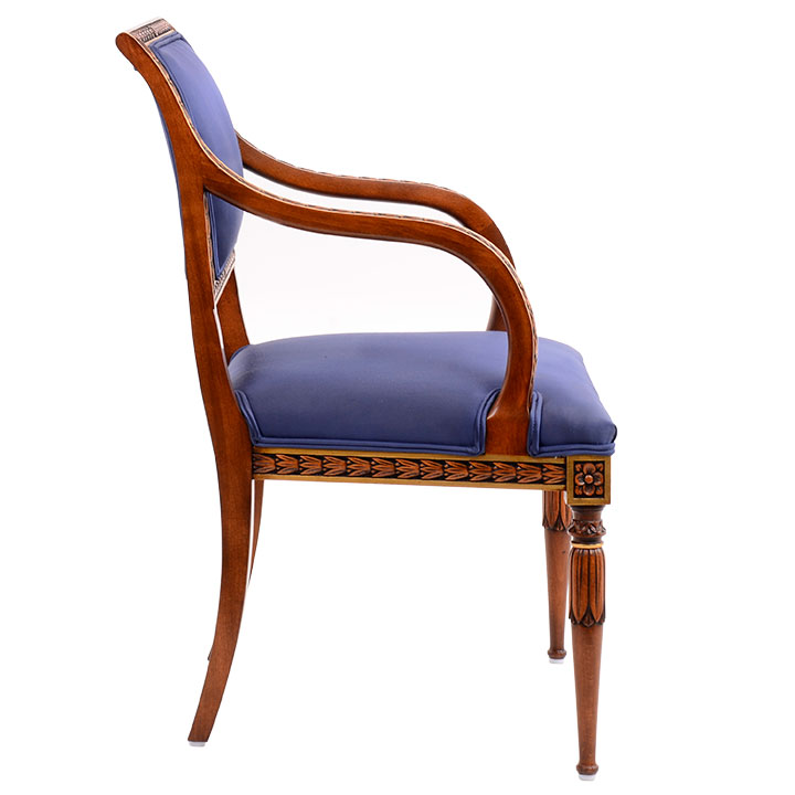 Karges Set Of Eight Louis XVI Style Dining Chairs