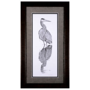 Sheri Greves Neilson Reflection pencil drawing